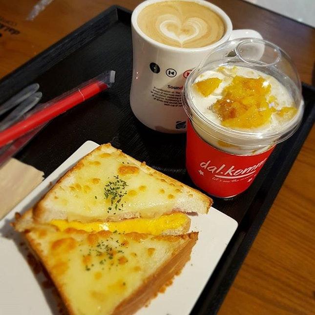 Cr0que M0nsieur x Caffé Latte (K1) x Mang0 Cube ♡