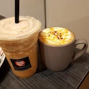 they have all year l0ng t0ffeenut frappe 0r h0t/iced t0ffeenut latte ☕️☕️