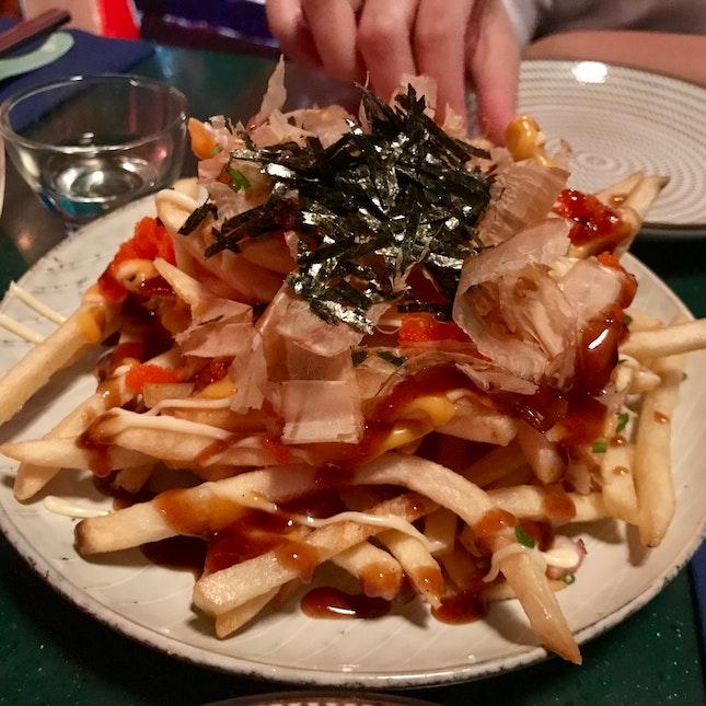 Takoyaki fries