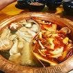 Dinner / 24 Aug 2018: mushroom - mala hotpot.