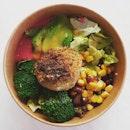 Avocado Vegan Bowl.