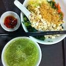 Thunder #Tea #brownrice #vegan #vegetarian #chinese #hakka #sharefood #food #sgig #sg #sgfood #foodig #foodsg #foodies #foodstagram #foodpic #foodporn #instafood #instagram #instagramsg #ig #igsg #singapore #singaporefood #healthy #healthyfood #yummy #lunch basil pine nuts spinach toufu birds eye chilli