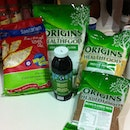 #grocery #shopping #rolledoats (Sanitarium Australian) brown #flaxseed meal, unbleached #flour #millet (Origins Healthfood) #organic #molasses #eatclean #cleaneats #determination #dedication #discipline #endinmind #fit #fitspo #fitspiration #makan #makeitcount #sharefood #healthy #lifestyle #choice #habit #healthyliving #eat