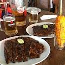 Pork ribs #naughtynuris #bali #kerobokan #batubelig #indonesia #idfood #foodporn