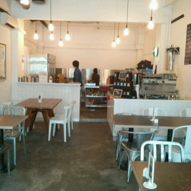 Small Little Cafe With An Open Kitchen By Eilleen Hgs