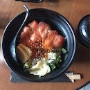 Salmon & Egg Don