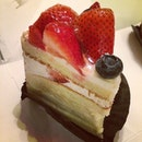 Strawberry soufflé #dinner