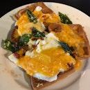 Salted Egg Waffles