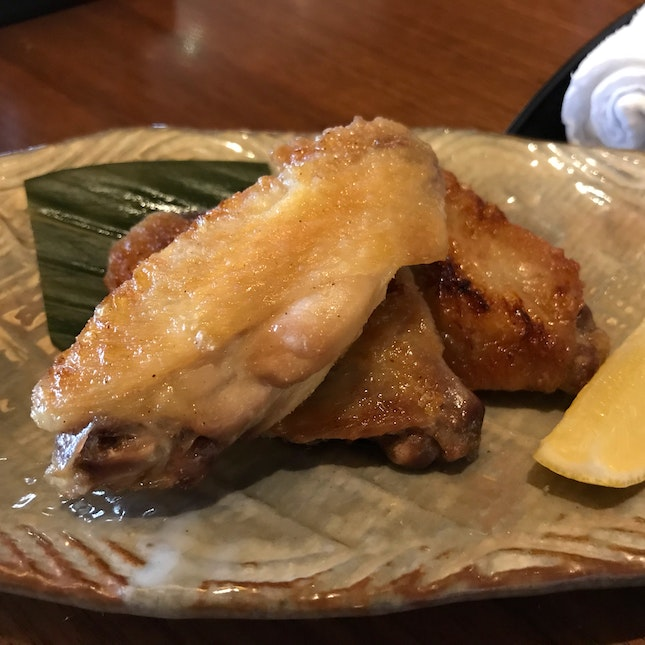 Grilled Lightly Salted Chicken Wing