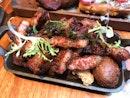 Charcoal Grilled Pork Bits