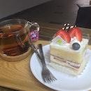Strawberry Shortcake & Passion fruit Tea
