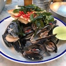 Steamed South Australia Mussels