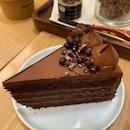 Signature Dark Chocolate Cake