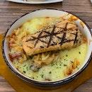 Baked Fusili Salmon