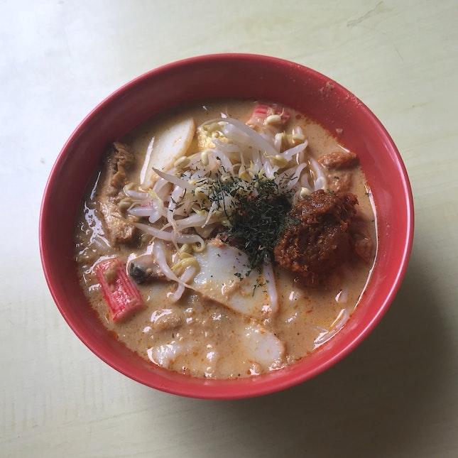 Laksa (Large - $3.30)