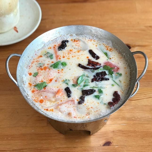 Tom Ka Soup (Prawn) - $8.00