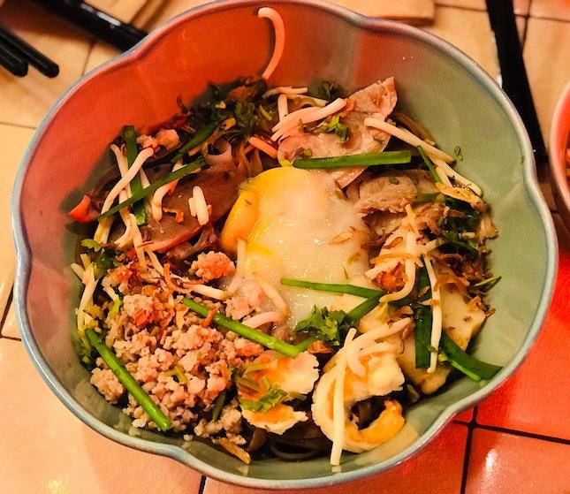 Phnom Penh Pork Noodle (Dry) - $10.90