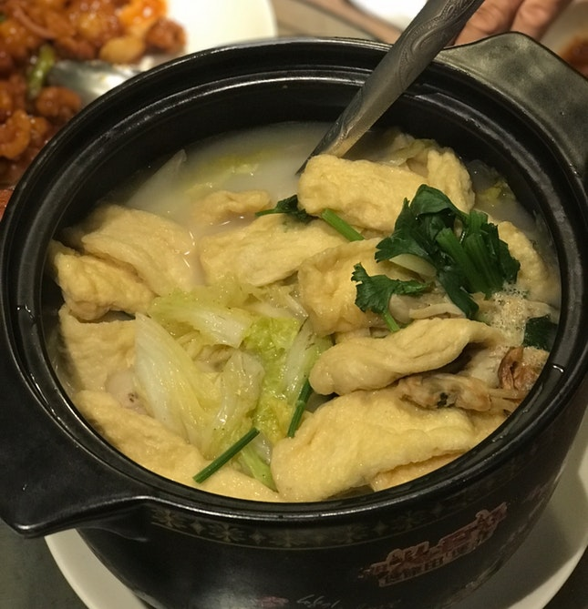 Braised Bean Curd With Chinese Cabbage Soup ($$$/$$$$)