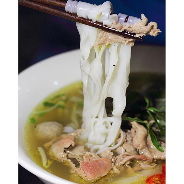 [Mrs Pho] - To get a bit of everything, I had the Special Beef Combo Noodle Soup ($8.90) or Pho Bo Dac Biet.