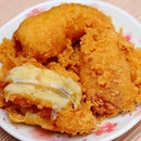 [Chow Fun] - Goreng Pisang or Deep Fried Caramelized Banana Fritter ($6.90).