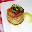 [Epicurean Market] - throwback to the crab cake I had over the weekend at the epicurean market from CUT.