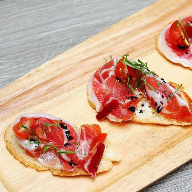[Oak Room] - Jamon Serrano ($28).