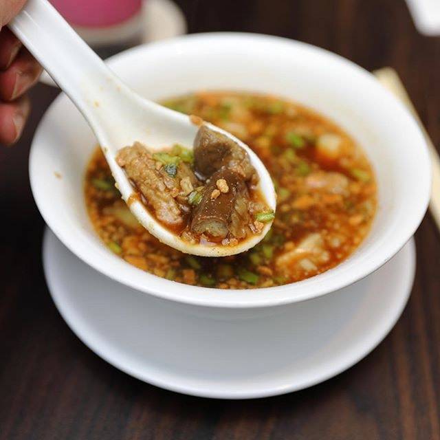 [White Rose Cafe, York Hotel] - The star of the latest edition of Penang Hawkers' Fare is the Duck Porridge.