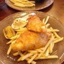 [Ash & Char] - Fish & Chips ($18).