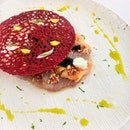 [BUTTER] - Carpaccio ($18) is an elegant dish that uses the fish they got for the day.