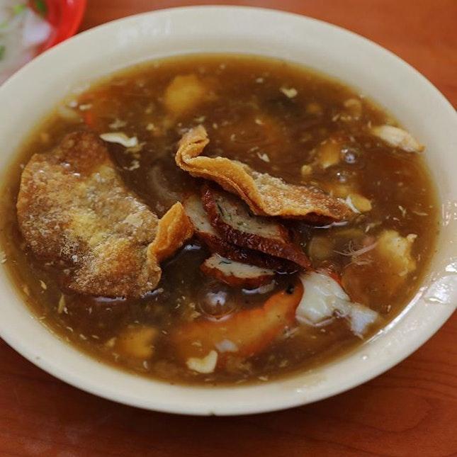 [Seow Choon Hua Restaurant] - Foo Chow Style Lor Mee ($5/$6).