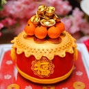 [Goodwood Park Hotel] - The Drum of Fortune ($108, 1.3kg) is an ideal gift for Chinese New Year.