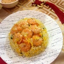 [Din Tai Fung] - Fried Rice with Shrimps and Egg.