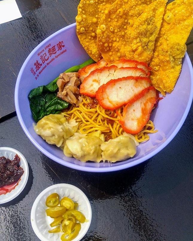 [Michelin Guide Street Food Festival] - Wanton Noodles.