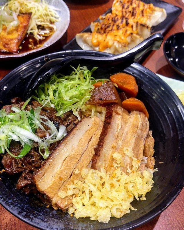 [Gyoza-Ya] - Gyu Kakuni Donburi ($20.80).