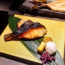 [Charcoal-Grilled & Salad Bar Keisuke] - The Charcoal Grilled Miso Marinated Black Cod ($21.90).