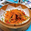 """[AquaMarine] - Throwback to the Baby Lobster in """"Bi Feng Tang"""" Style available during the Hong Kong cuisine of yesteryear."""