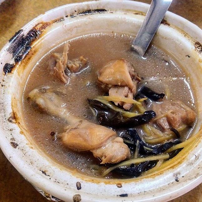 [Rasa Hakka] - Rice Wine Chicken (RM$18 small).