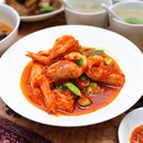 [Nonya Bong] - The dish that got everyone raving is the Sambal Prawns.