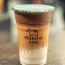 [Milksha] - The Valrhona 100% Cocoa Milk ($4.80) uses premium Valrhona cocoa from France.