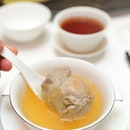[Shang Palace] - Boneless Quail filled with Bird's Nest in Supreme Broth ($98).