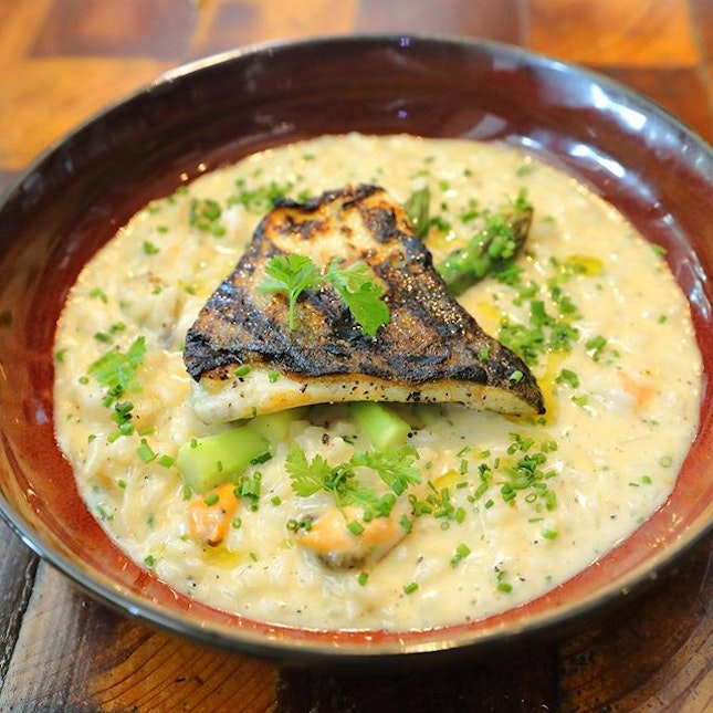 [Firebake] - The Seafood Risotto ($26) is now available for brunch, lunch and dinner.