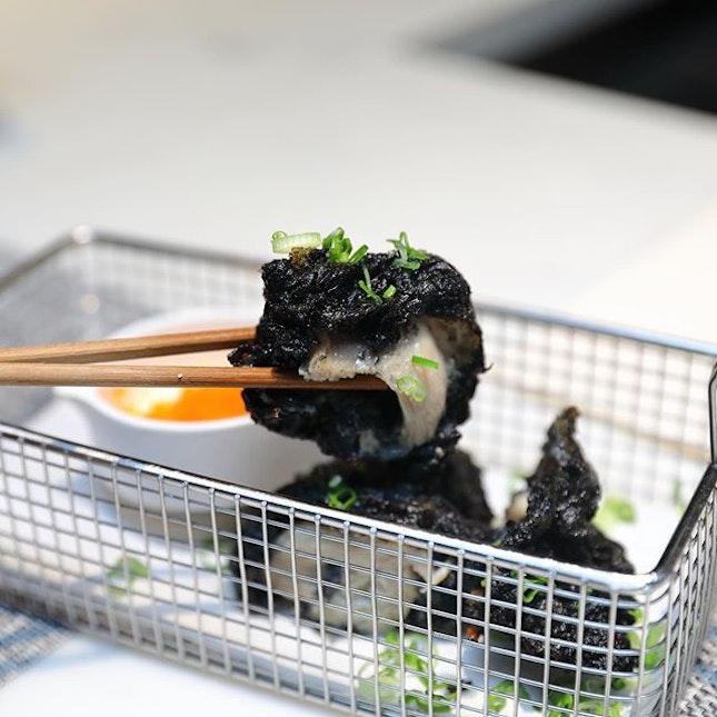 [Gake] - Charcoal Chicken Karaage ($12.80).