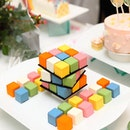 [Goodwood Park Hotel] - The Merry Cubes ($88 for 1 Set) is a playful cake among the collection.