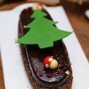 [Pan Pacific Singapore] - Hazelnut Chocolate Tart made with artisanal Araguani chocolate, hazelnut praline mousse and crunchy feuilletine.