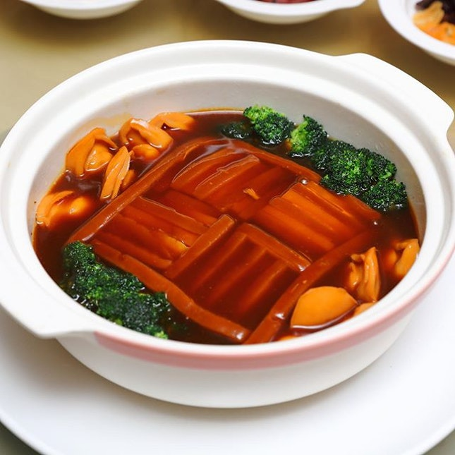 [Min Jiang] - For those planning to celebrate Lunar New Year in the comfort of their home, one can impress their guests with the Pot of Gold ($243.95).