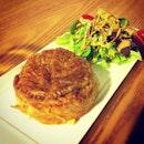 Chicken pie at Mooshi. Yums! #chicken #pie #dinner #food