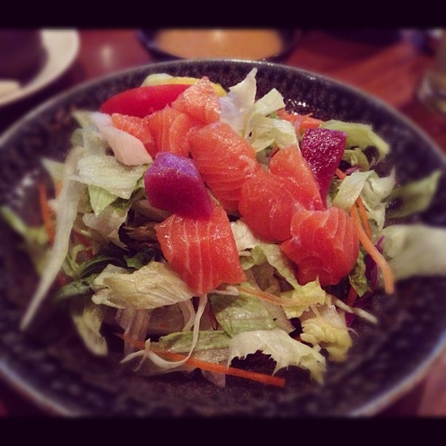Still at the top of my salad list #japanese #sushi #sashimi #salad #instagood #instafood #dinner #food
