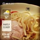 #今日の麺 #noodleoftheday #burpple #instafood #japan