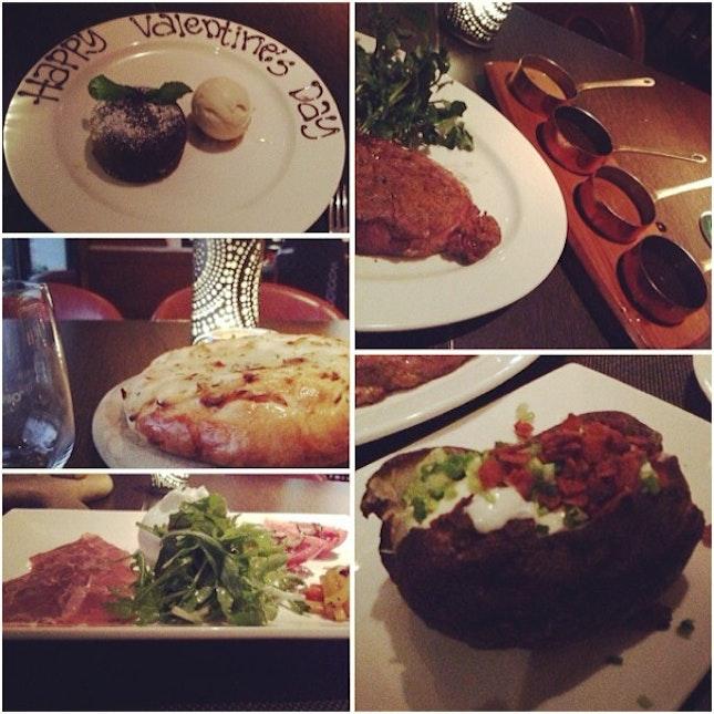 #dinnerdate #foodporn #happytummy #wooloomooloosteakhouse# #swissôtelstamfordsg #postvalentinedate