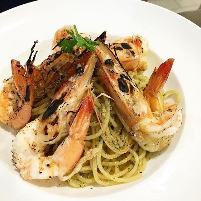 Spaghetti Aglio Olio E Acciughe($7)
